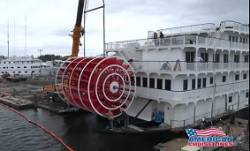American Cruise Lines' Queen of the Mississippi nears completion