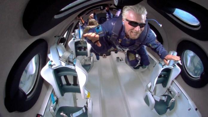 News: Branson blasts off with Virgin Galactic