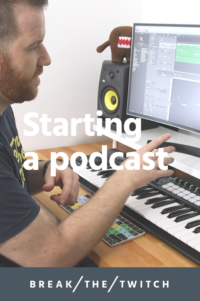 Things To Consider When Starting A Podcast // When starting a podcast, there are some important things to consider. Here's what you need to know. // breakthetwitch.com