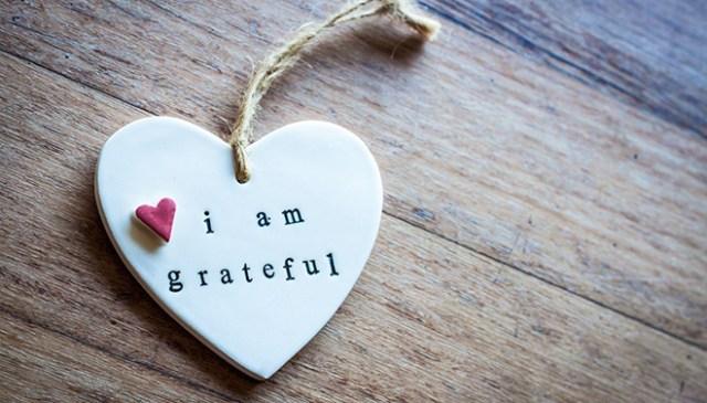 bring gratitude