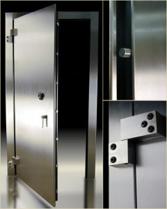 Even the heaviest vault doors still swing on small hinges...