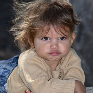 This isn't my child, but this is a face I've seen many times before!