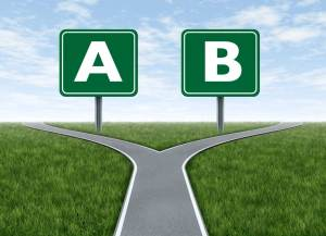 A/B split testing is the only true path to marketing genius!