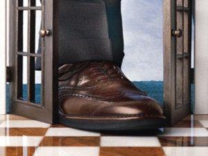 Today's post: how to get your foot in the door!