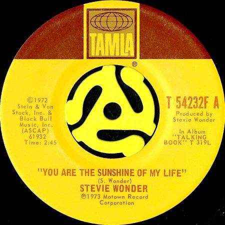 STEVIE WONDER / YOU ARE THE SUNSHINE OF MY LIFE (45's)|BREAKWELL RECORDS - 中古レコード通販 Soul. Funk. Disco. Breaks & Beats