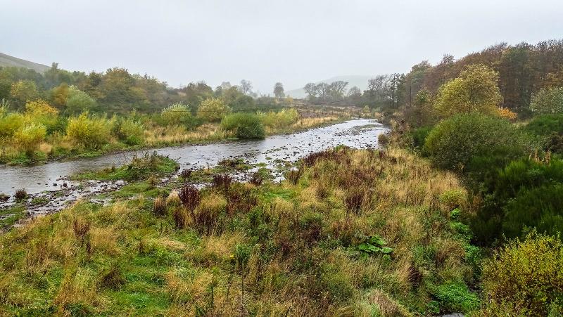 Breamish river at Branton