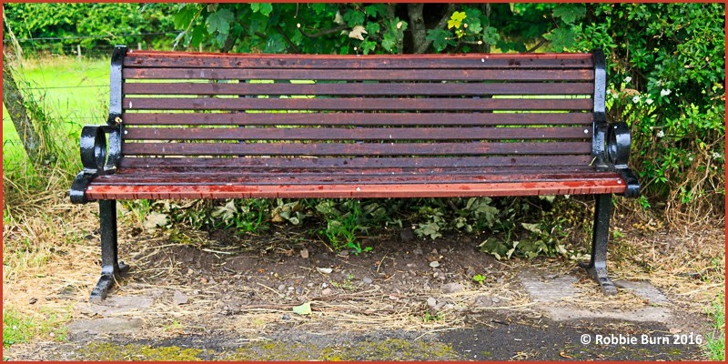 Powburn bench restored Robbie Burn header