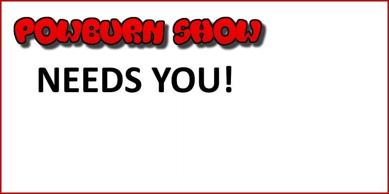 Powburn Show needs you header
