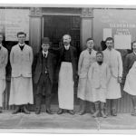 Staff of the Hedgeley Co-operative Store