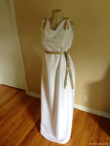 Greek god or goddess costume for late night at the dma breanna cooke