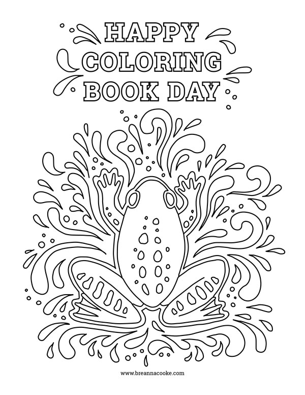 Coloring books aren't just for kids