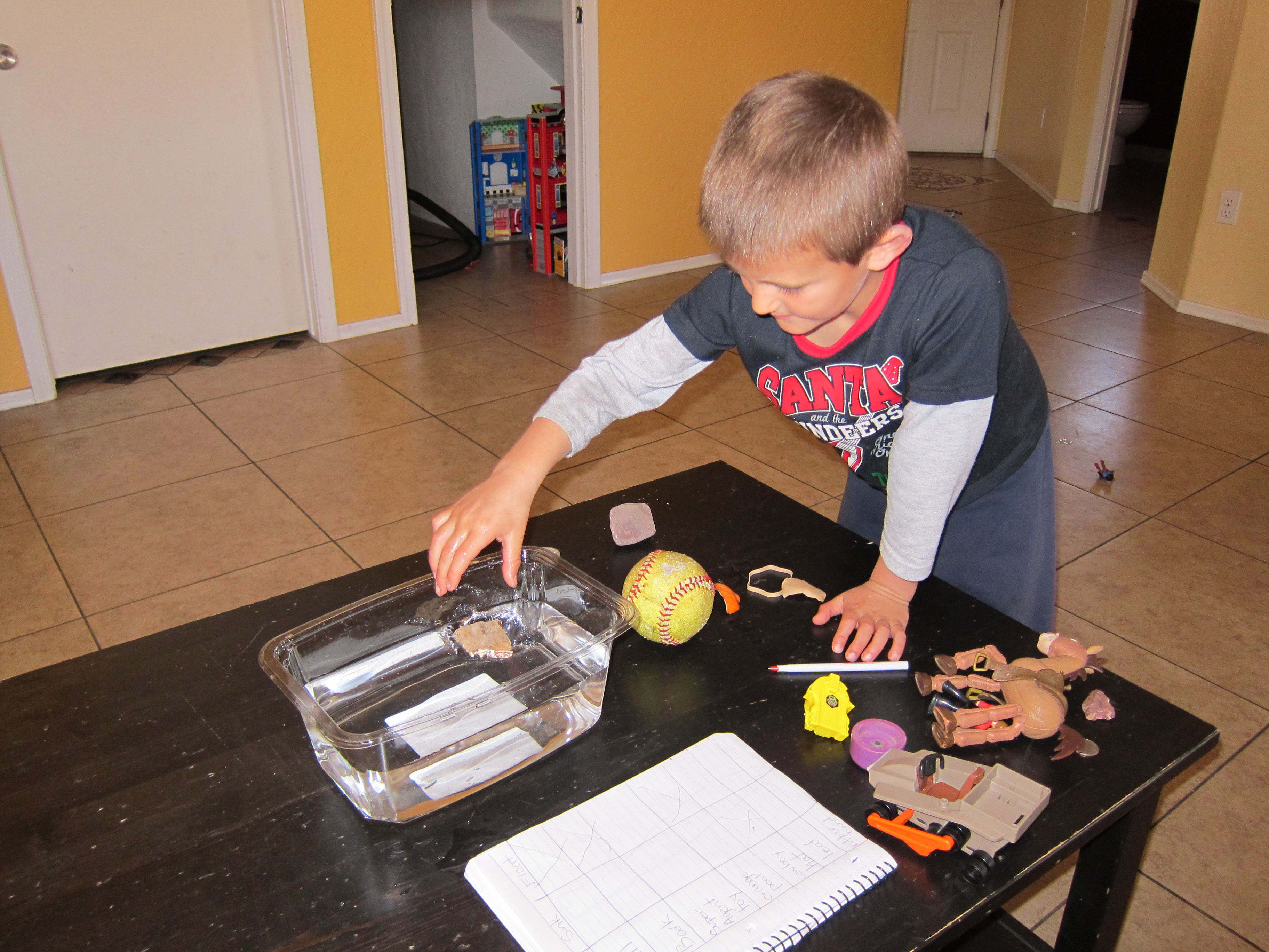 Fun Science Activity Sink Or Float Breastfeedbywearothdiaperturally Breastfeed