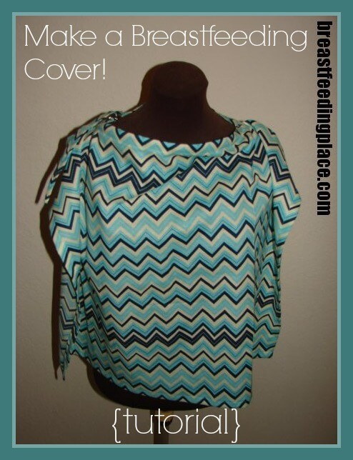 How to Make Your Own Nursing Cover  BreastfeedingPlacecom