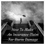 Commercial insurance storm claim