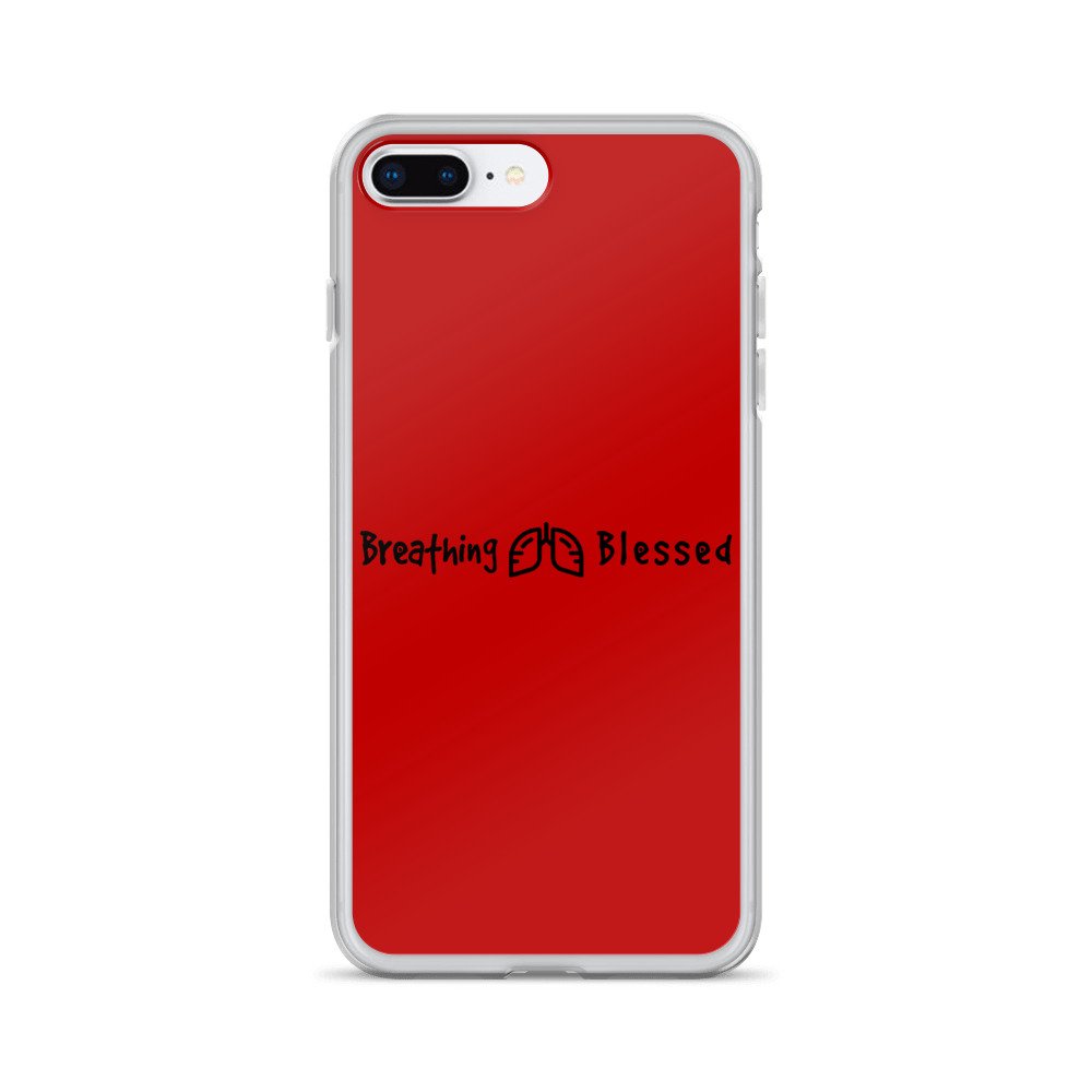 Black & Red Classic iPhone 7 Plus/8 Plus Case