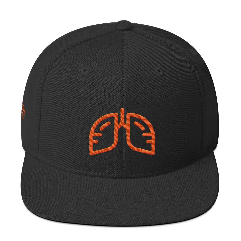 Orange Icon Snapback