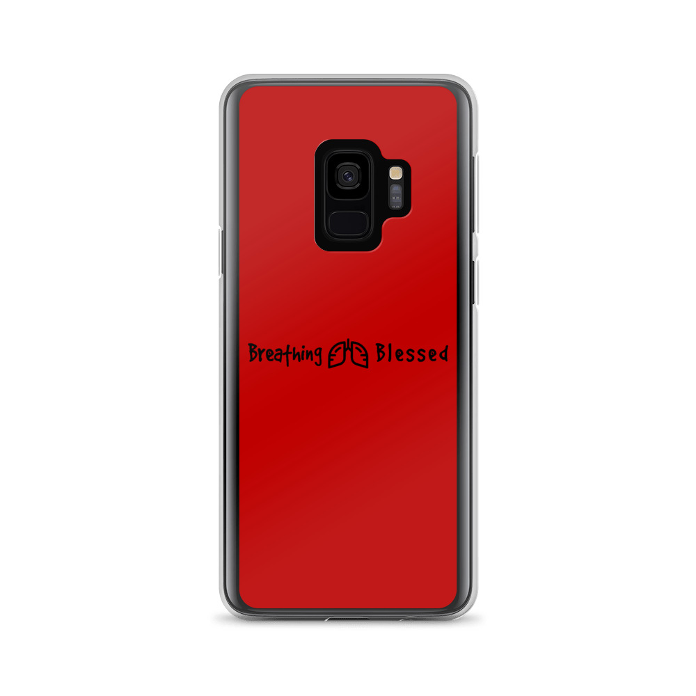 Black & Red Classic Galaxy S9 Case