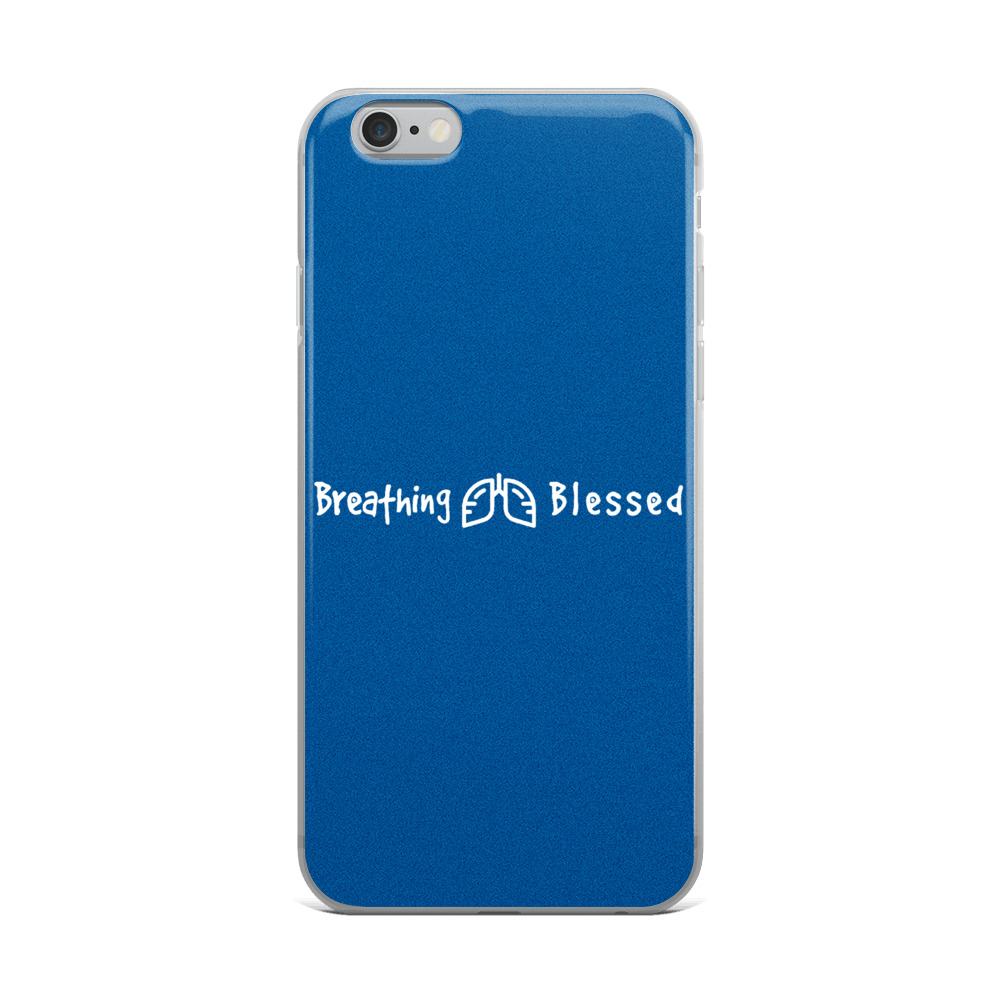 White & Royal Classic iPhone 6 Plus/6s Plus Case