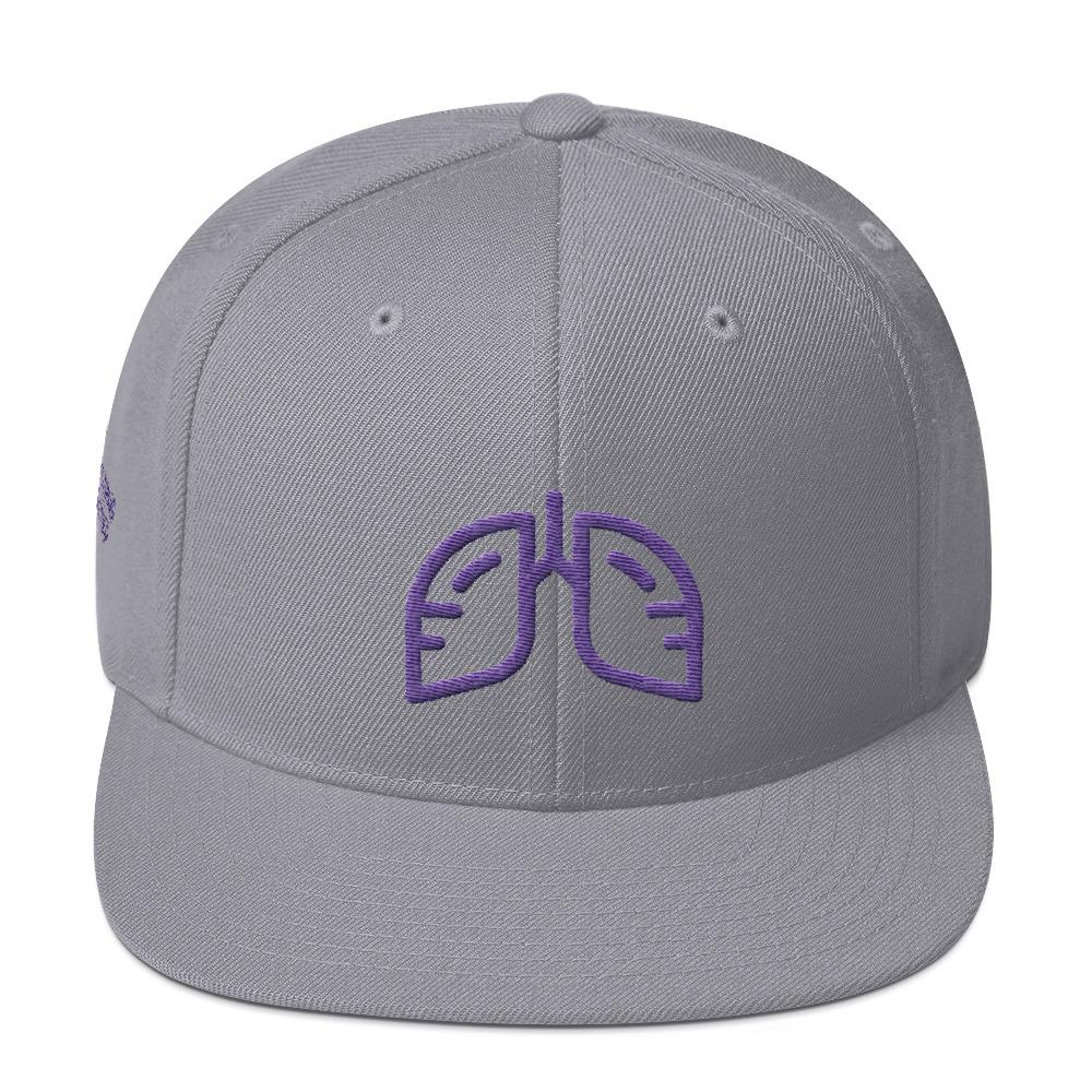 Purple Icon Snapback