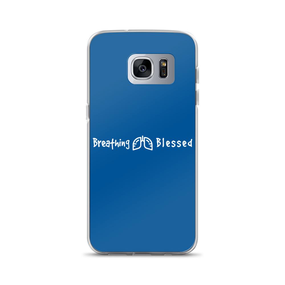 White & Royal Classic Galaxy S7 Edge Case