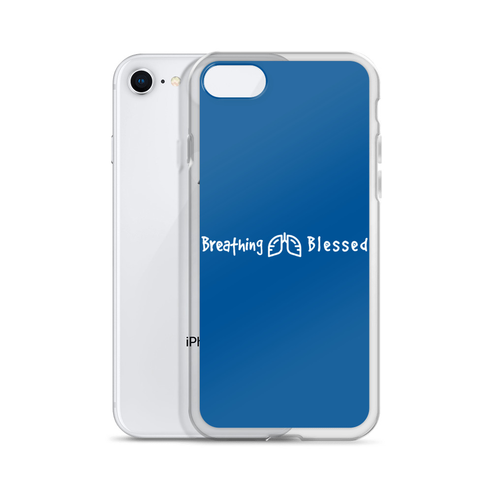 White & Royal Classic iPhone 7/8 Case