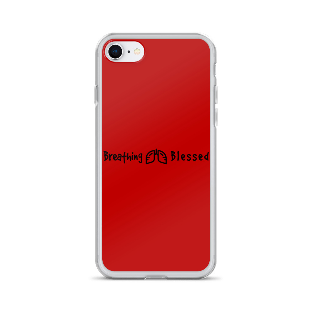 Black & Red Classic iPhone 7/8 Case