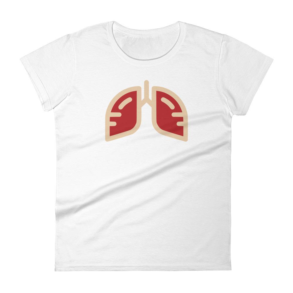 Ladies Delta Crimson Icon T-Shirt