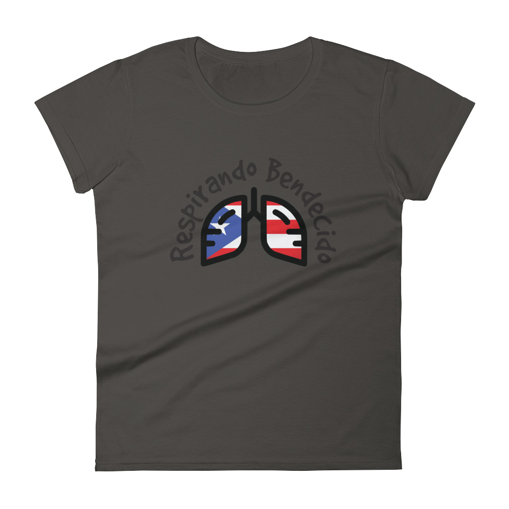 Breathing Puerto Rico Black Original T-Shirt