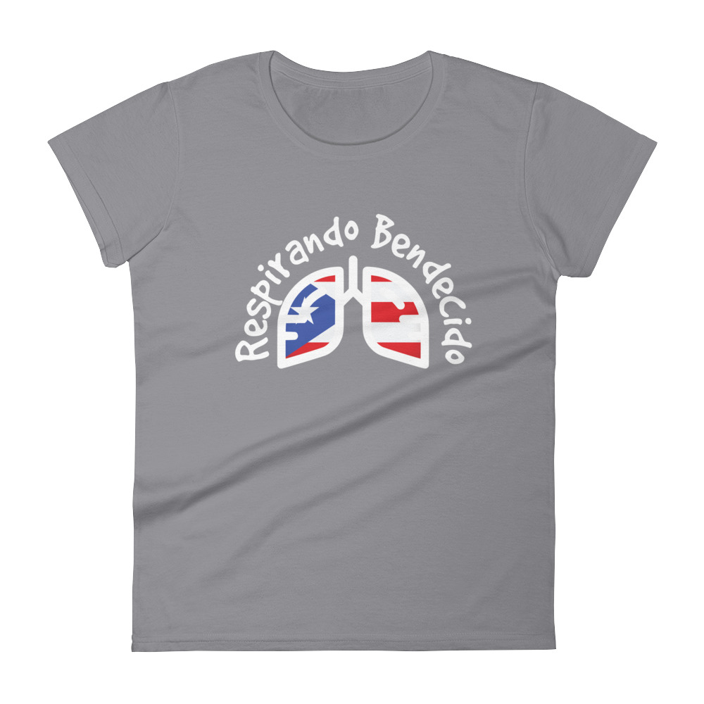 Breathing Puerto Rico White Original T-Shirt