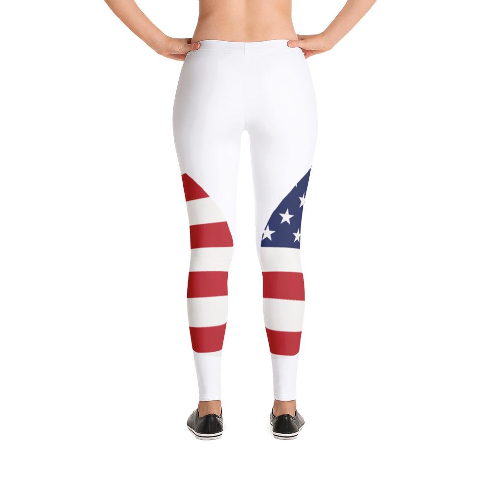 Breathing USA Original White Leggings