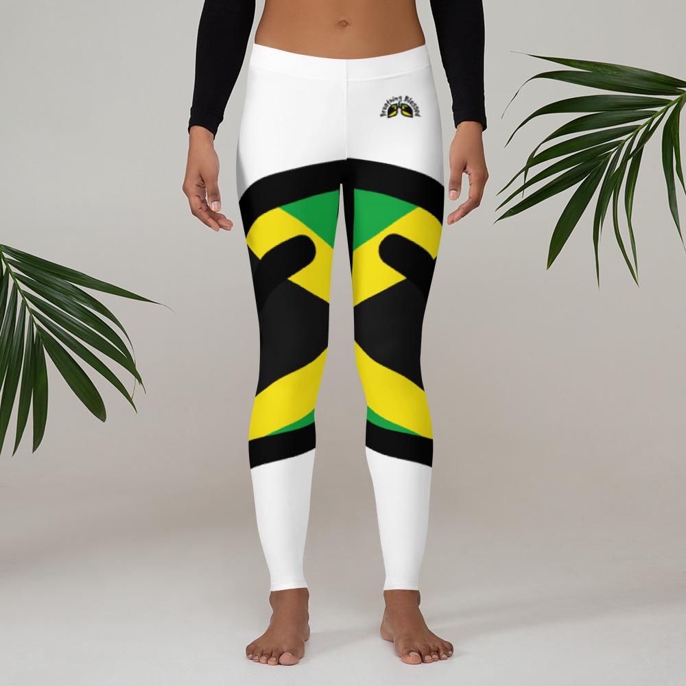Breathing Jamaica Original White Leggings