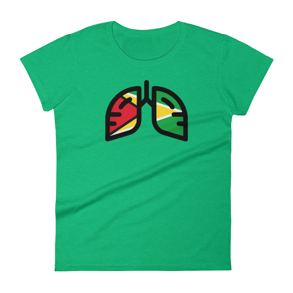 Ladies Breathing Guyana T-shirt