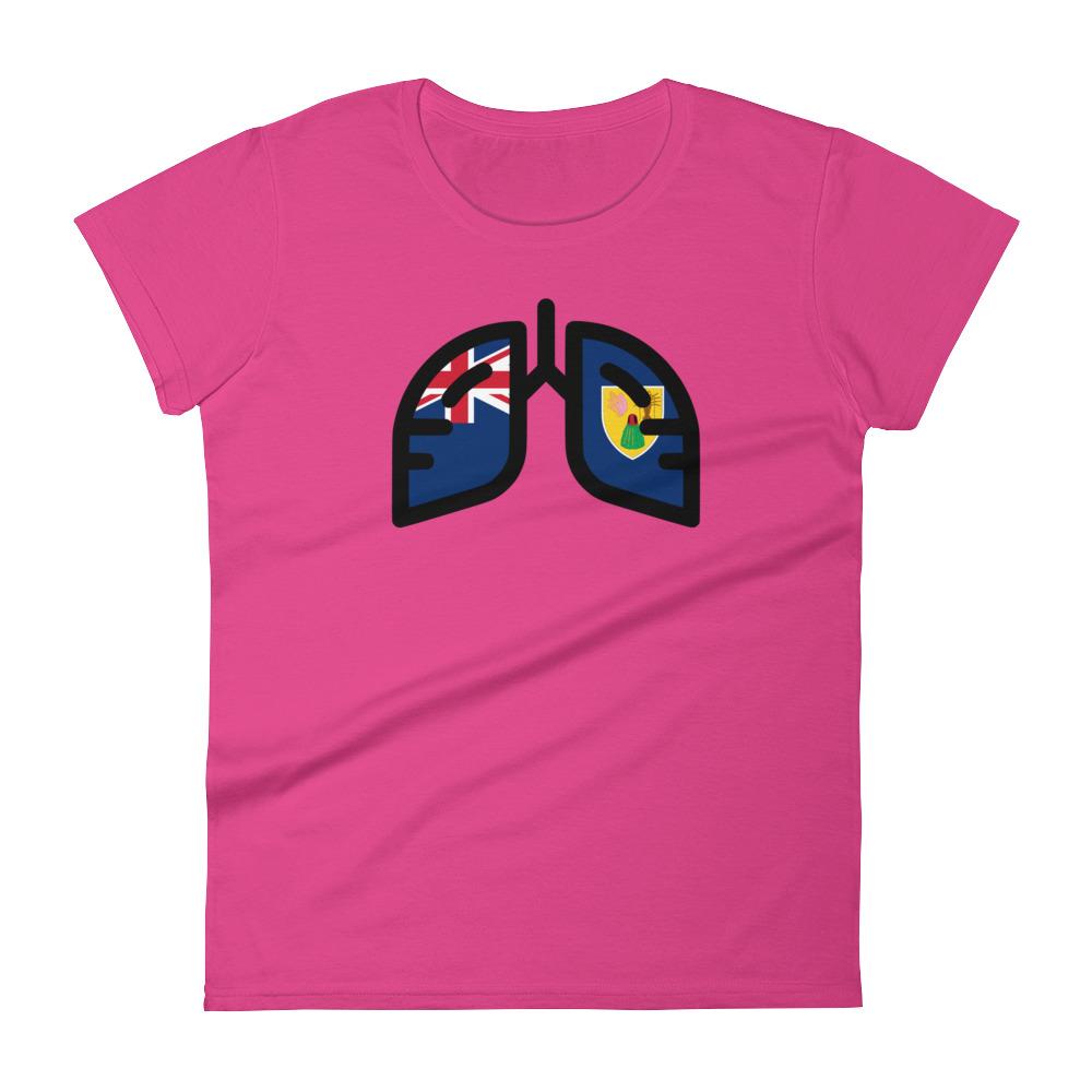 Ladies Breathing Turks & Caicos T-Shirt