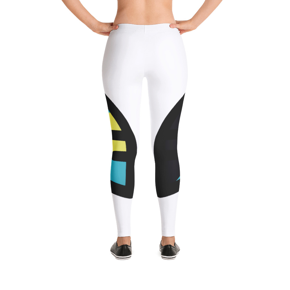 Breathing Bahamas White Leggings