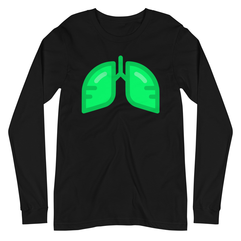 Neon Green Icon Long Sleeve T