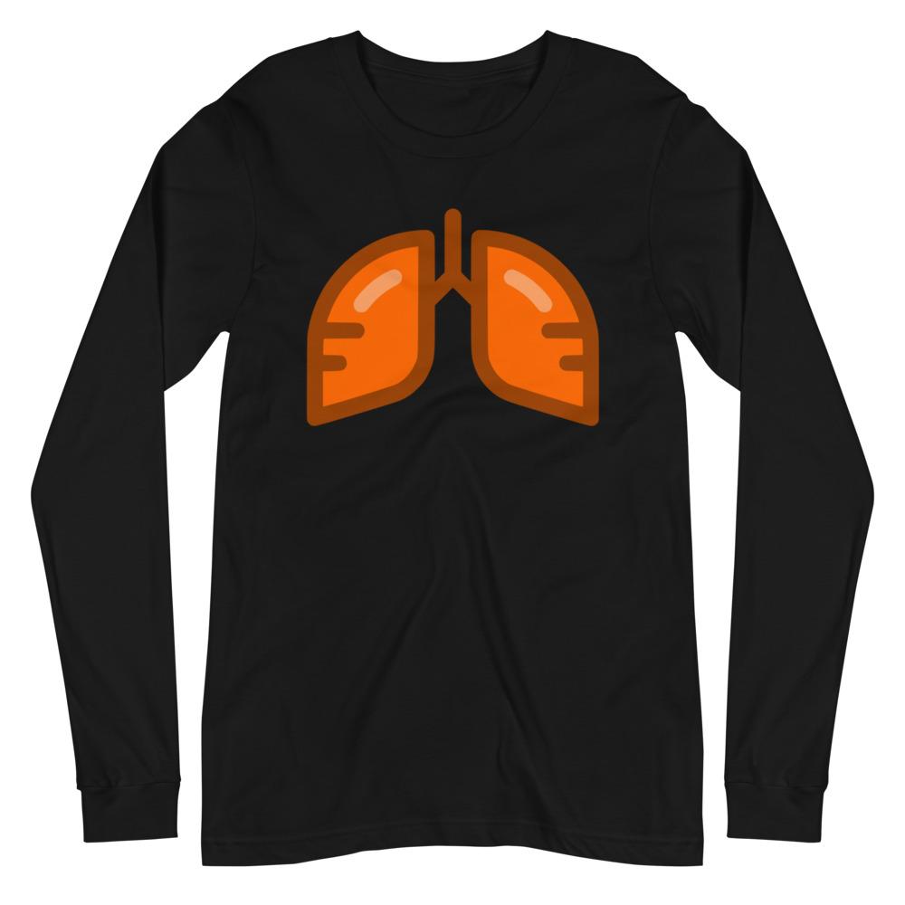 Neon Orange Icon Long Sleeve T