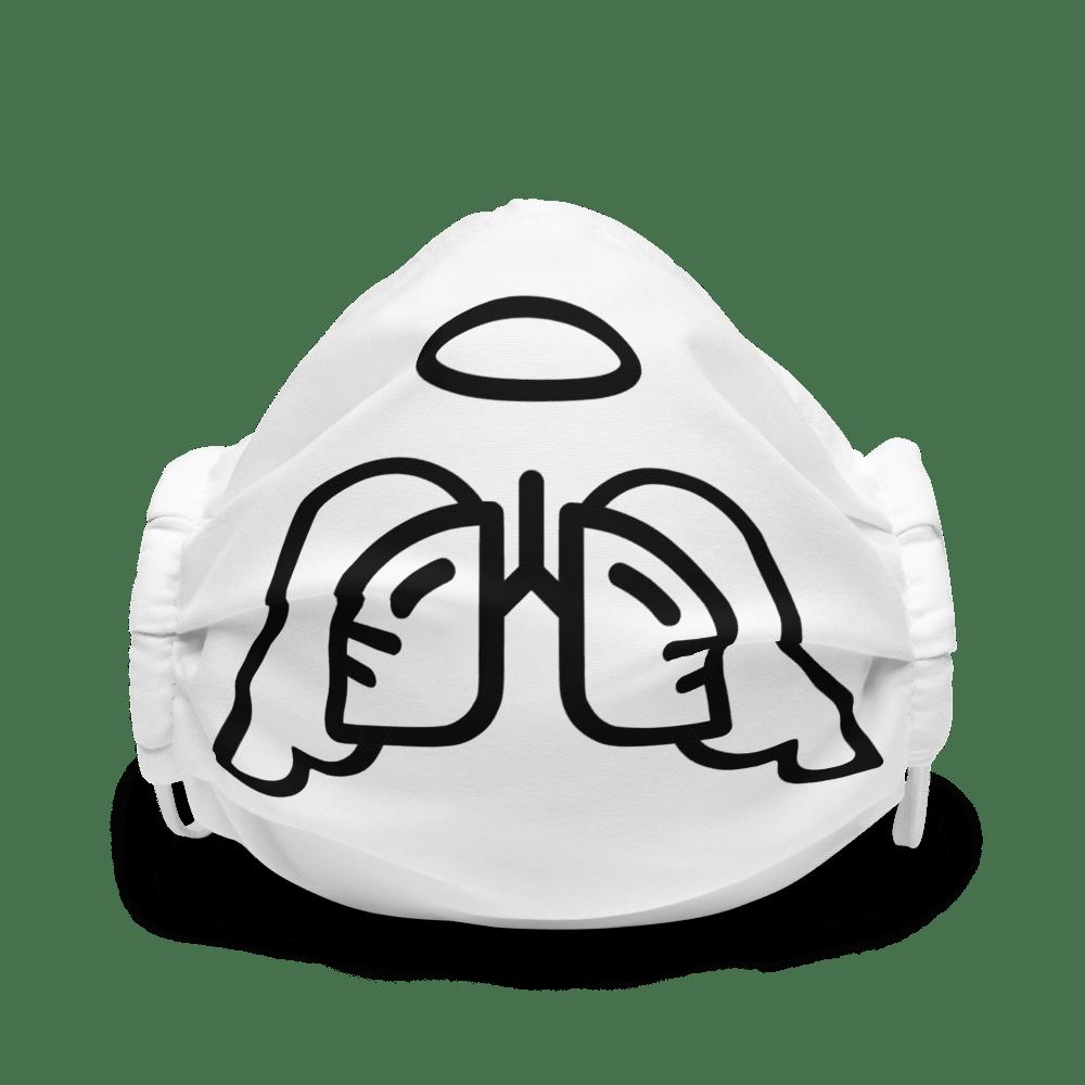 Black Wing Icon Premium Face Mask