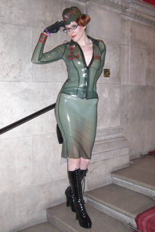 Breathless Uk latex rubber couture  fetish clothes GALLERY