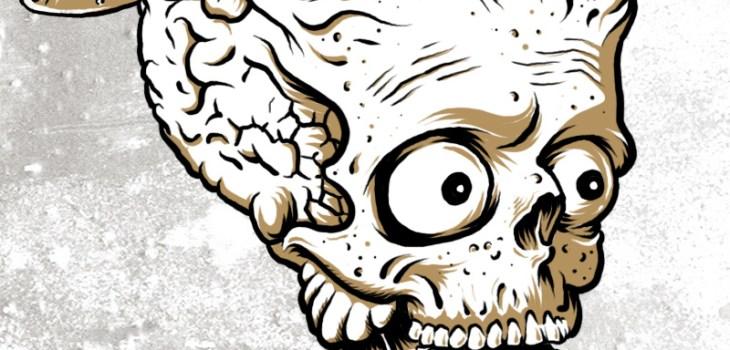 Mars Attacks, Illustration, Drawing, Editorial Layout, Graphic Design, Toronto, Rue Morgue Magazine, Horror, Alien, Horror Movie