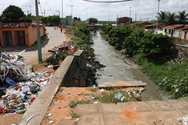 Canal do Baldo atualmente
