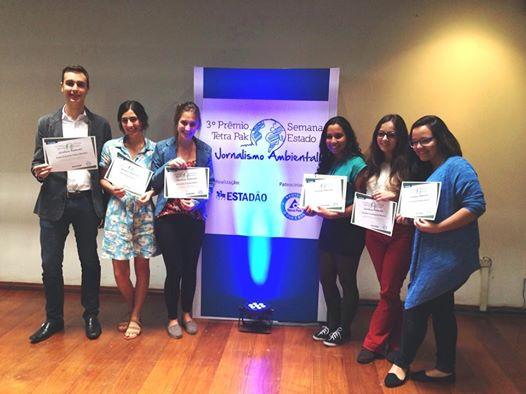 Marina com os finalistas