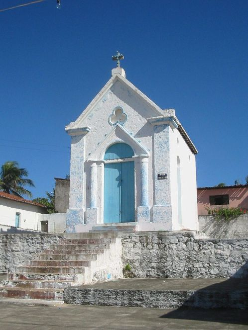 Foto da igreja construída inicialmente (Foto: Wikipedia)
