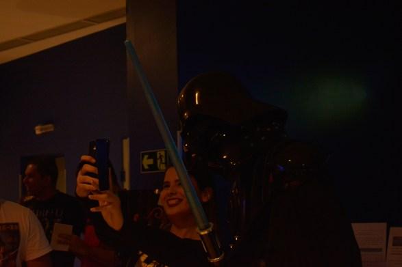 Selfie com Darth Vader