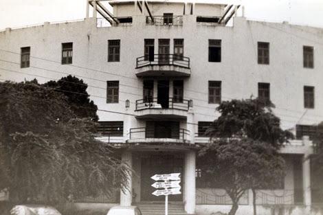 Fachada da lateral do prédio (Foto: Tok de História)