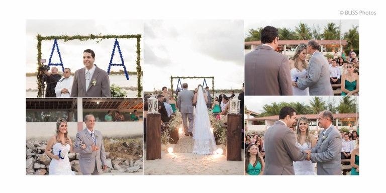 Casamento na praia do Y (Foto: Noiva Blog)
