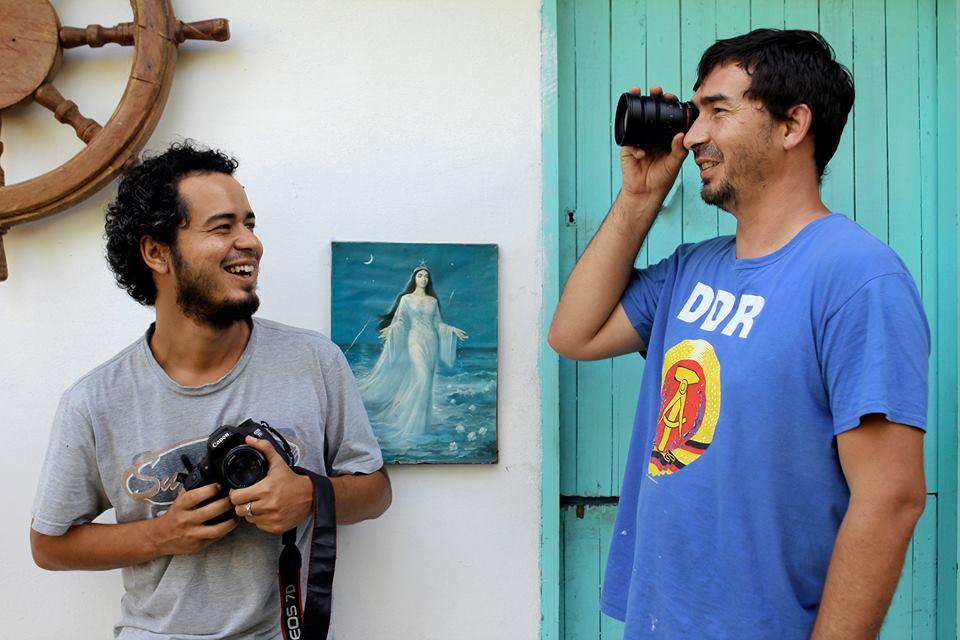 Rodrigo Sena e Julio Oliveira, idealizadores do projeto