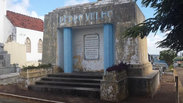 Túmulo de Pedro Velho (Foto: Márlio Forte)