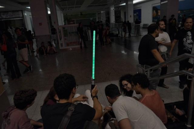 O sabre de luz
