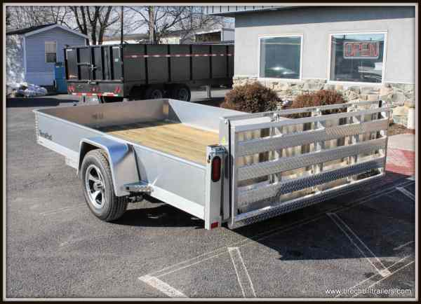 Aluma Trailer Side Rail With - Year of Clean Water