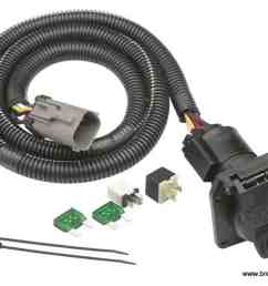 tekonsha replacement trailer wiring harness for 99 01 ford f250 f350trailer wiring harness [ 1200 x 859 Pixel ]
